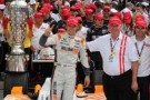 Dan Wheldon Wins 2011 Indy 500 - Firestone Racing Photo