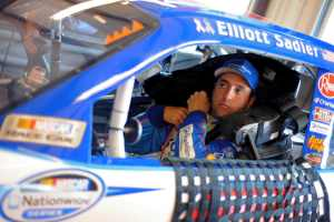 NNS Elliott Sadler in Car - Photo Credit: Jason Smith/Getty Images for NASCAR