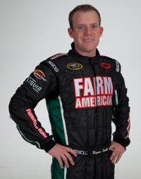 Regan Smith in Furniture Row/Farm American uniform