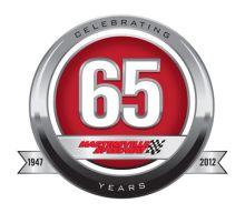 Martinsville Speedway 65th Anniversary Logo