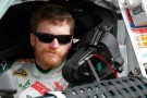 Dale Earnhardt Jr., driver of the #88 Diet Mountain Dew/National Guard Chevrolet, sits in his car - Photo Credit: Todd Warshaw/Getty Images for NASCAR