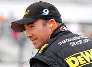 Marcos Ambrose/DeWalt - Photo Credit: Geoff Burke/Getty Images for NASCAR