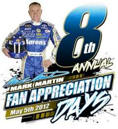 2012 Mark Martin Appreciation Days