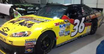 2012 NSCS No 36 Jimmie Johnson's Anything with an Engine Chevrolet Impala SS