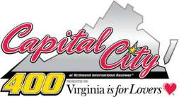 Capital City 400 Presented by Virginia is for Lovers Logo