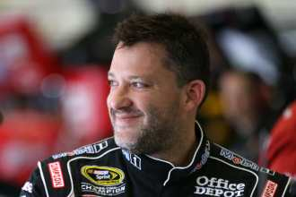 2012 NSCS Tony Stewart - Photo Credit: Chris Graythen/Getty Images for NASCAR