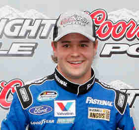 Ricky Stenhouse Jr., Coors Light Pole Winner - Photo Credit: Geoff Burke/Getty Images for NASCAR