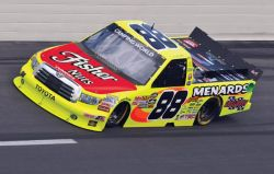 No. 88 Menards / Fisher Nuts Toyota Tundra