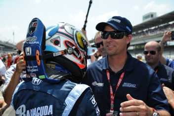 Alex Tagliani and Bryan Herta