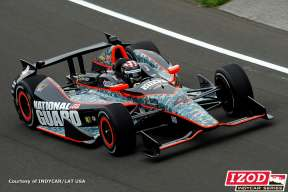 JR Hildebrand No. 4 National Guard - Photo Courtesy of INDYCAR/LAT USA