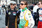 Simona de Silvestro and Jean Alesi -- Photo by: Chris Jones for IMS