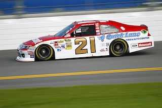 No 21 Motorcraft Quick Lane Ford Fusion at Daytona