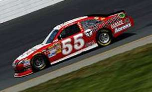 Brian Vickers in the No. 55 MWR Toyota