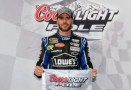 Jimmie Johnson on the Pole - Photo Credit: Jared C. Tilton/Getty Images for NASCAR