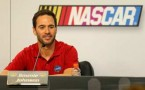 Jimmie Johnson, driver of the #48 Lowe's/Kobalt Tools Chevrolet speaks with members of the media - Photo Credit: Mike Ehrmann/Getty Images for NASCAR