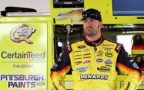 Paul Menard in Garage - Photo Credit: Todd Warshaw/Getty Images