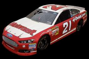 No. 21 Wood Brothers Racing Motorcraft Quicklane Ford