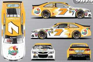 No 7 Florida Lottery Chevrolet