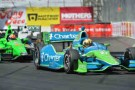 2013 IICS Driver Oriol Servia (Charter) on Track - Photo Credit: INDYCAR
