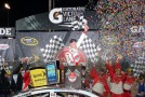 Kevin Harvick, driver of the #29 Bell Helicopter Chevrolet, celebrates in Victory Lane after winning the NASCAR Sprint Cup Series Toyota Owners 400 at Richmond International Raceway on April 27, 2013 in Richmond, Virginia. - Photo Credit: Streeter Lecka/Getty Images
