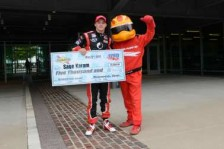 Sage Karam with the Firestone Firehawk -- Photo Credit: Chris Owens/IMS