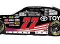 No. 77 Toyota Stars and Stripes Toyota Camry
