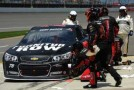 Kurt Busch, driver of the #78 Furniture Row Chevrolet, pits - Photo Credit: Will Schneekloth/Getty Images