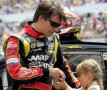 2013 NSCS Driver Jeff Gordon with daughter Ella Sophia - Photo Credit: John Harrelson/Getty Images