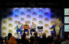 Michael Waltrip announces the sponsors for Michael Waltrip Racing during the 2014 NASCAR Sprint Media Tour - Photo Courtesy of Michael Waltrip Racing