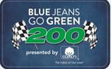 Blue Jeans Go Green 200 Logo