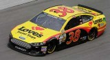 2014 NSCS David Gilliland on track in the No. 38 Loves Travel Stops Ford Fusion