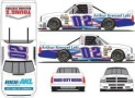 No. 02 Arthur Krenzel Lett Insurance Group Chevrolet Silverado Layout