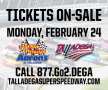 Talladega Superspeedway Tickets On-Sale Monday, February 24