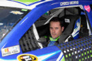 Casey Mears, driver of the #13 GEICO Chevrolet, sits in his car during practice for the NASCAR Sprint Cup Series Auto Club 400 at Auto Club Speedway on March 21, 2014 in Fontana, California. - Photo Credit: Kevork Djansezian/Getty Images