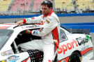 2014 NNS Driver Elliott Sadler (SportClips) - Photo Credit: Kevork Djansezian/Getty Images