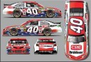 2014 NSCS No. 40 Patriotic-Themed CRC BRAKLEEN Chevrolett SS