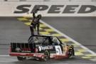 Kyle Busch Wins SFP 250 at Kansas Speedway