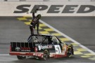 Kyle Busch Wins SFP 250 at Kansas Speedway