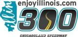 enjoyillinois.com 300 at Chicagoland Speedway Logo