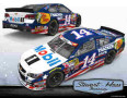 "2014 NSCS No. 14 Mobil 1 Bass Pro Shops ""Patriotic"" Chevrolet SS"