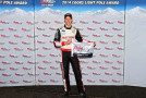 Brad Keselowski, driver of the #2 Miller Lite Ford, poses with the Coors Light Pole Award after qualifying for the pole for the NASCAR Sprint Cup Series Quaker State 400 presented by Advance Auto Parts at Kentucky Speedway on June 27, 2014 in Sparta, Kentucky. - Photo Credit: Christian Petersen/Getty Images
