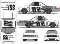 No. 02 Standard Structures Inc. Chevrolet Silverado Layout