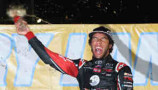 2014 NCWTS Darrell Wallace Jr in Victory Lane - Photo Credit: Todd Warshaw/Getty Images