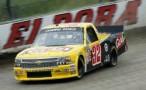 Kyle Larson, No. 32 GLAD Chevrolet Silverado