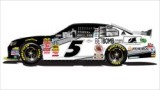 No. 5 BetBomb.com Chevrolet Camaro Layout