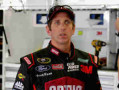 Greg Biffle, driver of the #16 Ortho Fire Ant Killer Ford, stands in the garage area - Photo Credit: Jerry Markland/Getty Images