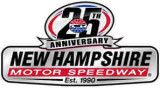 New Hamphshire Motor Speedway 25th Anniversary Logo