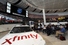 A general view of the Great Hall during the NASCAR series partnership announcement at NASCAR Hall of Fame on September 3, 2014 in Charlotte, North Carolina. NASCAR and Xfinity announced a deal that will span ten years. - Photo Credit: Jared C. Tilton/Getty Images
