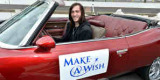 Local Indiana teen JD receives his restored 1974 Pontiac Grand Ville Convertible via the Make A Wish Foundation at the Indianapolis Motor Speedway -- Photo by: Chris Owens for IMS