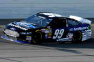 2014 NSCS Driver Carl Edwards on track in the No. 99 Ford EcoBoost Ford Fusion - Photo Credit: Jeff Curry/Getty Images